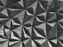 Architecture concrete wall background. Chaotic design construction. 3d render illustration stock illustration