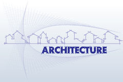 Architecture - construction company Royalty Free Stock Photos