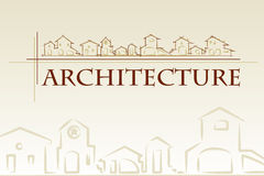 Architecture - construction company. Royalty Free Stock Photo