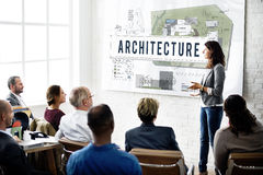 Architecture Construction Design Real Estate Residential Concept Royalty Free Stock Photos
