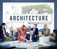 Architecture Construction Design Real Estate Residential Concept Stock Photos