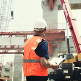 Architecture Construction Safety First Career Concept Royalty Free Stock Photos