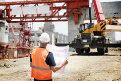 Architecture Construction Safety First Career Concept Stock Images