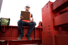 Architecture Construction Safety First Career Concept Royalty Free Stock Images