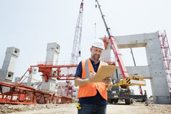 Architecture Construction Safety First Career Concept Stock Photography