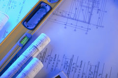 Architecture and contractor concept. Stock Image