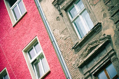 Architecture contrasts royalty free stock image