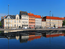 Architecture in Copenhagen, Denmark Royalty Free Stock Photo