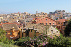 Architecture of Corfu, Greece Royalty Free Stock Photography