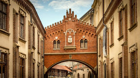 Architecture of Cracow, Poland Royalty Free Stock Images