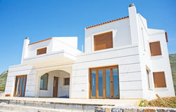 Architecture in Crete, Greece. Royalty Free Stock Photos