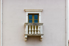 Architecture of Croatia: window Royalty Free Stock Photo