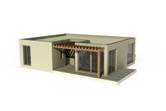 Architecture cubique de Chambre illustration libre de droits