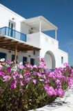 Architecture cyclades greek islands Royalty Free Stock Photos