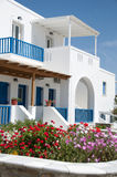 Architecture cyclades greek islands Royalty Free Stock Photography