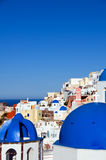 Architecture cyclades santorini greek island Royalty Free Stock Photos