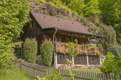 Architecture of Czech mountains Stock Photo