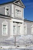 Architecture découpée en bois Photos libres de droits