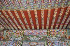 Architecture/détail asiatiques antiques de toit Photos stock