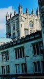 Architecture d'été de New York d'université de château image stock