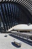 Architecture d'aéroport Images libres de droits