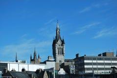 architecture d'Aberdeen Image libre de droits