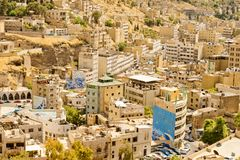 Architecture d'Amman, Jordanie Photos stock