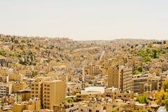 Architecture d'Amman, Jordanie Image libre de droits