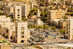 Architecture d'Amman, Jordanie Photo stock