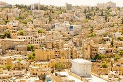 Architecture d'Amman, Jordanie Photographie stock