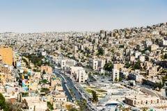 Architecture d'Amman, Jordanie Images stock