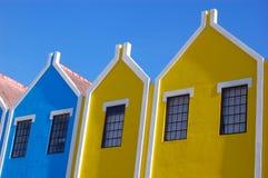 Architecture d'Aruba de Néerlandais Images libres de droits