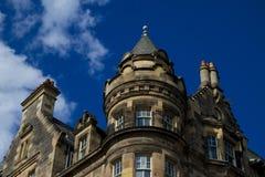 Architecture d'Edimbourg Image libre de droits
