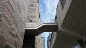 Architecture d'escaliers à Francfort Allemagne Photographie stock