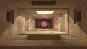 architecture 3d futuriste Images stock