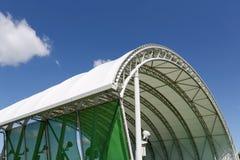Architecture d'un dôme en plastique Images stock
