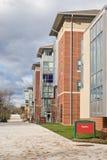 Architecture d'université Photo stock