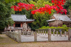 Architecture of Daigo-ji temple in autumn, Kyoto. Daigo-ji is a Shingon Buddhist temple. KYOTO, JAPAN - NOVEMBER 10, 2016 :  Architecture of Daigo-ji temple in Stock Image