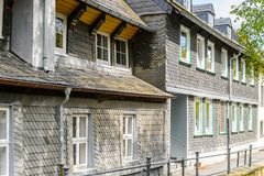 Architecture dans Goslar, Allemagne Photo libre de droits