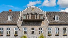 Architecture dans Goslar, Allemagne Photographie stock