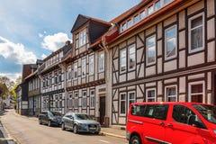 Architecture dans Goslar, Allemagne Image stock