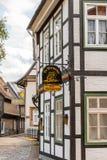 Architecture dans Goslar, Allemagne Photos libres de droits