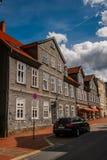 Architecture dans Goslar, Allemagne Photographie stock libre de droits