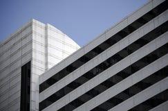 Architecture dans la perspective dans la ville de Caracas photos libres de droits