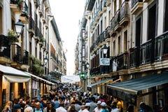 Architecture dans le pays Basque, Espagne photos stock