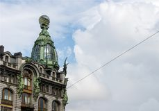 Architecture dans le St Petersbourg, Russie Photographie stock libre de droits