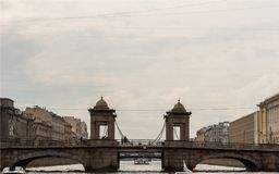 Architecture dans le St Petersbourg, Russie Images stock