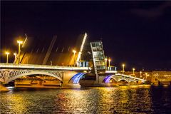 Architecture dans le St Petersbourg, Russie Images libres de droits