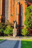 Architecture dans Legnica poland Images stock