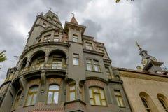 Architecture de bâtiment à Prague Photos libres de droits
